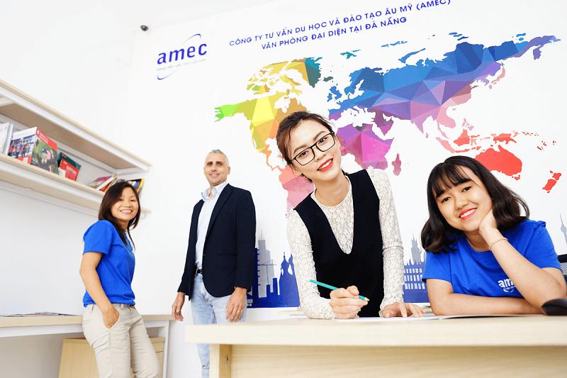 Công ty tư vấn du học và Đào tạo Âu Mỹ (AMEC)